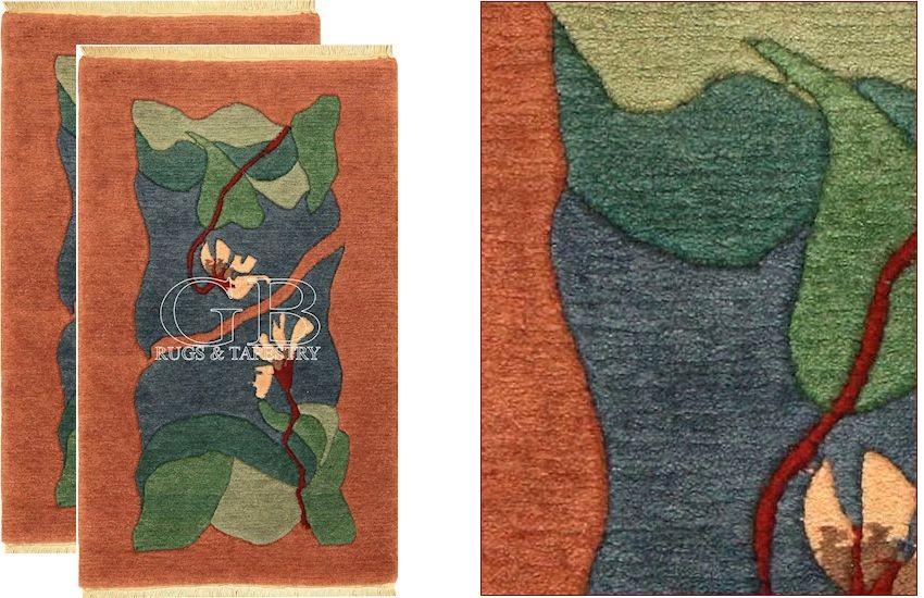 MODERNE TIBET TEPPICH, TIBET TEPPICH DESIGN 103 x 64