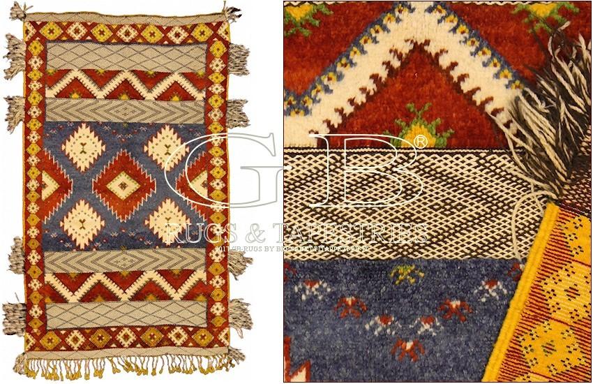 tapis berbere tazenacht 252x150 140716745777. Black Bedroom Furniture Sets. Home Design Ideas