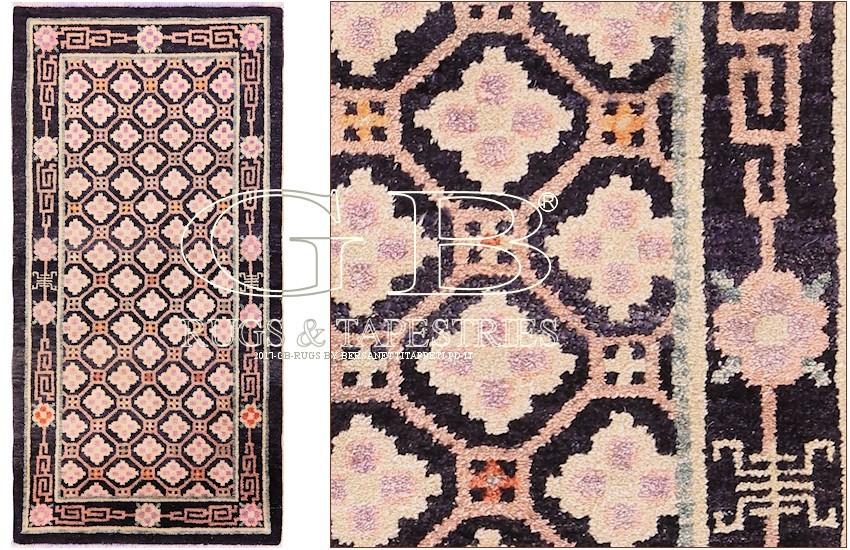 teppich antik best vintage teppich antik trendiger patchwork stil designer teppich in grau u. Black Bedroom Furniture Sets. Home Design Ideas