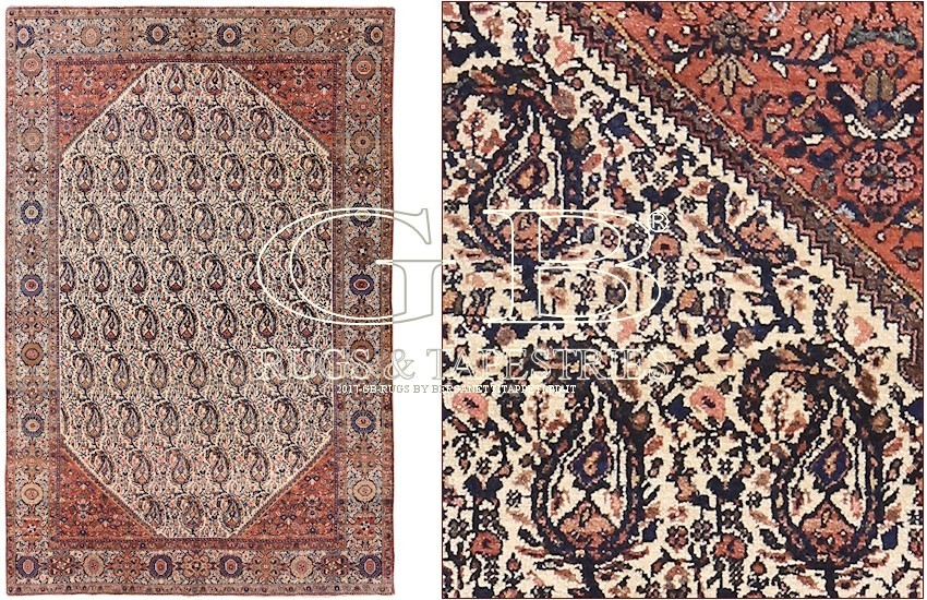 SAROUGH FARAHAN TEPPICH 196 x 127  141512235695  GB Rugs