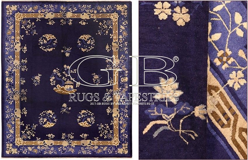 antique peking carpet