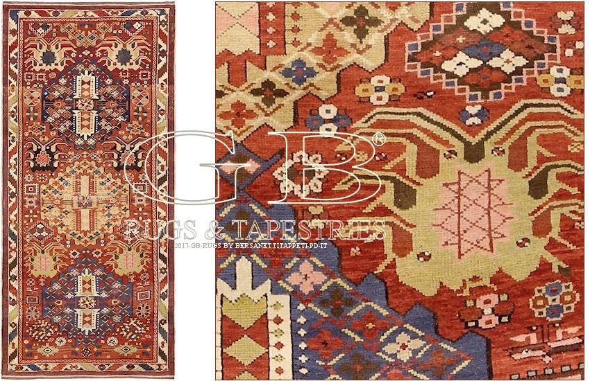 TAPIS KAZAK ANCIEN 270 x 128 : 140000000547 : GB Rugs