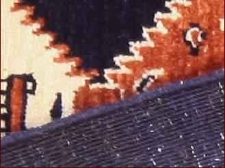 les tapis modernes , Kashkuli noués à la main
