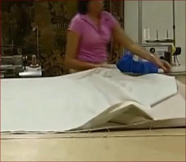 Restauro tapices antiguos, el foderatura