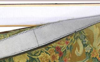 tapisserien restauration , Wie man einen wandteppich aufhaengt