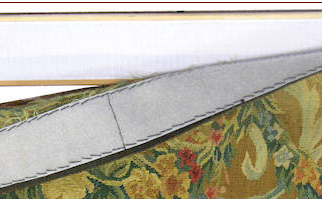 restauro tapices antiguos, COMO COLGAR EL TAPIZ