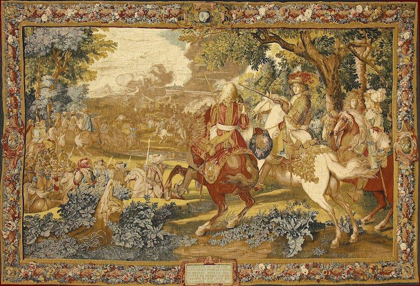 Arazzo Histoire du Roi, le canal de Bruges