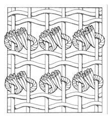 Nodo ghiordes turco o simmetrico