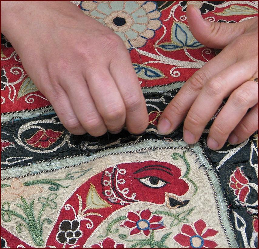 Lavage des tapisseries anciens, GB-Rugs Padua