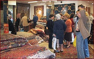 WHO WE ARE : leaders in Oriental rugs and tapestries