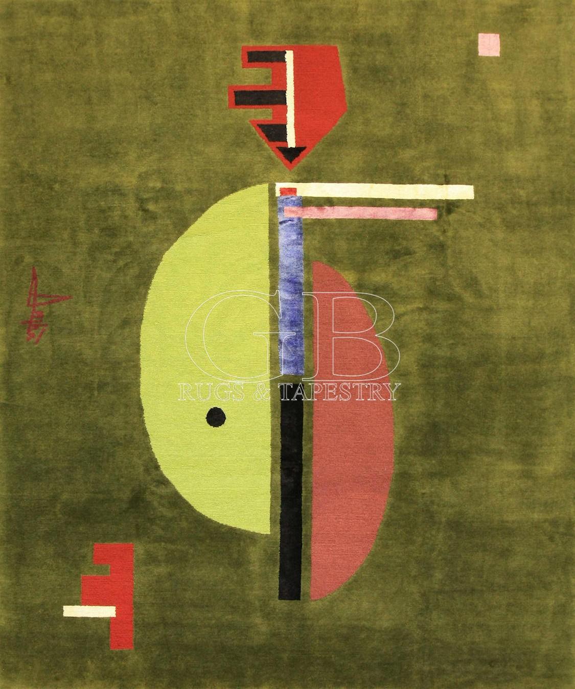 tappeti moderni su misura annodati a mano, ART DESIGN COLLECTION 300 x 250 cod 140915045971