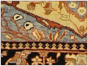 Wie anzuerkennen antike teppiche Saruk Ferahan