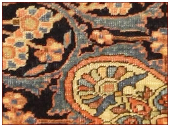 Antique carpets , Saruk Ferahan