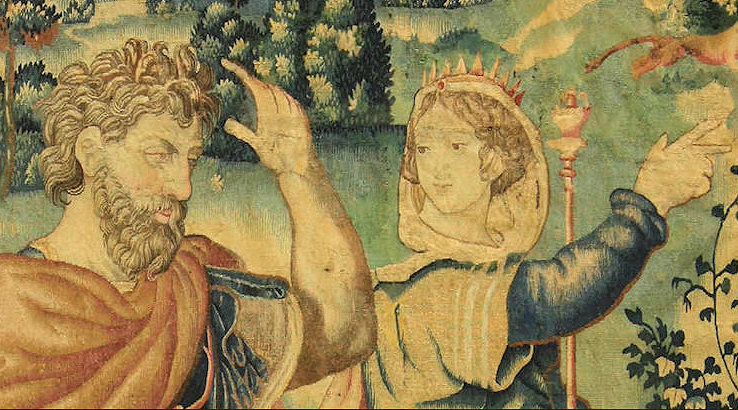 restauro tapices antiguos, Bersanetti Padova