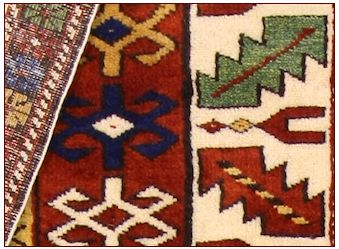 Antique carpets , Shirvan mogan