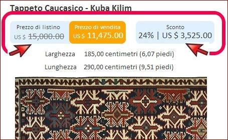 MERCATO DEI TAPPETI | sconti finti e crisi nel mercato dei <strong>tappeti orientali</strong>
