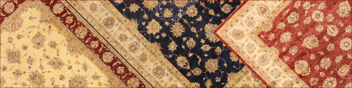 Les Tapis orientaux et le marché. Les tapis Ziegler