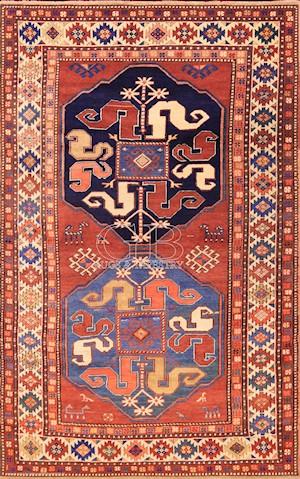 Geschichte der GB-Rugs.Tappeto-Kazak-Ciondzoresk
