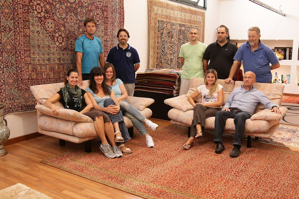 Le personnel Experts de tapis sur www.gb-rugs.com