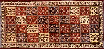 Bachtiari Teppich 307×142