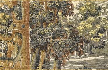 Arazzo Verdures de Beaune, della Collection d\\\\'Art De Rambouillet.
