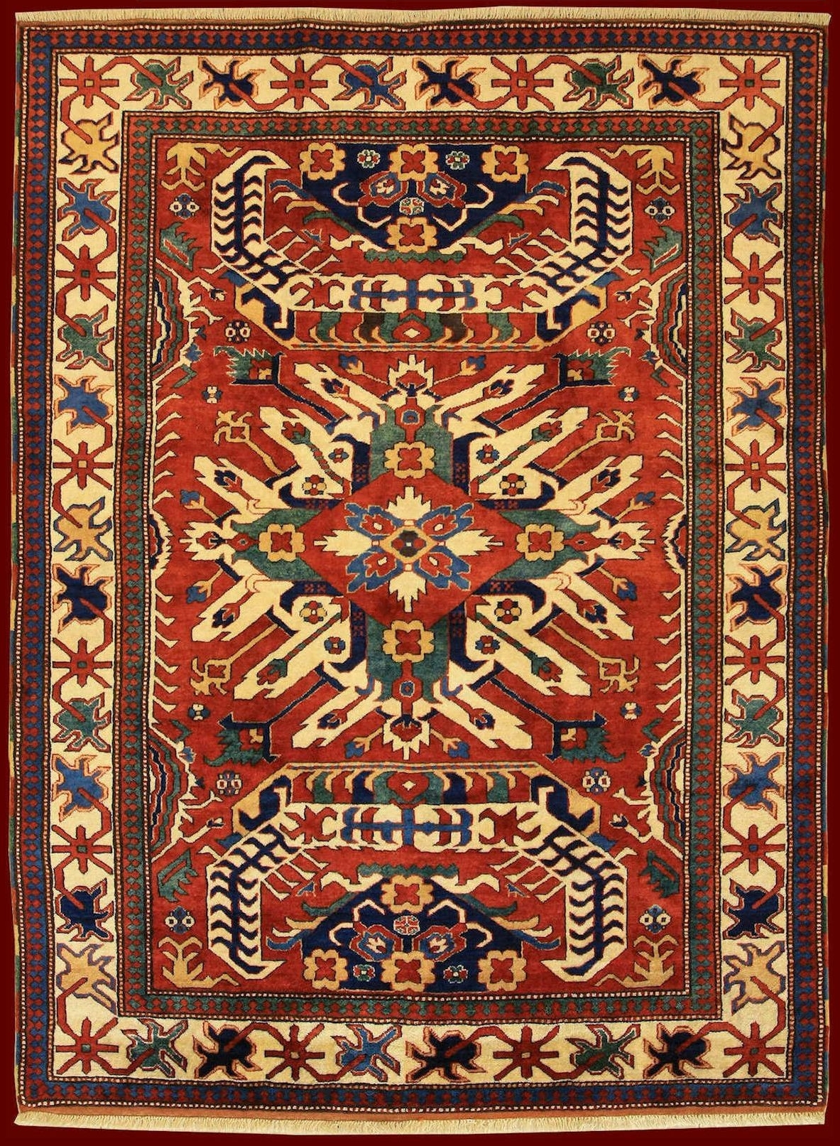 Celaberd Kazak of carpet's glossary
