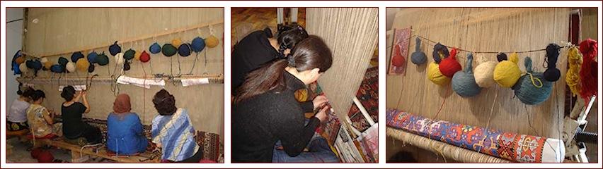 Antiques caucasians carpets reproduction