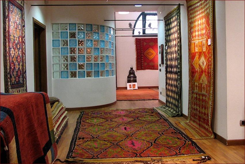 Tappeti berberi, showroom gb-rugs Padova