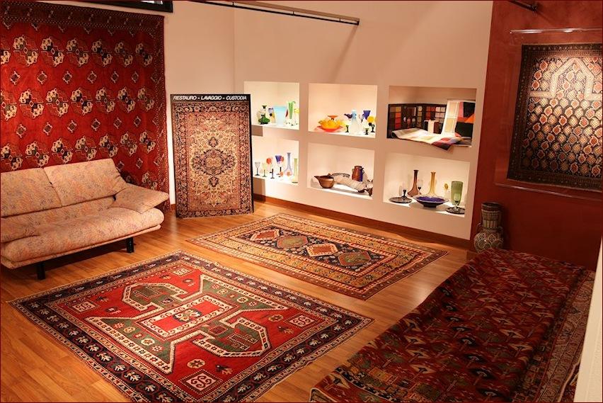Tappeti caucasicii, showroom gb-rugs Padova_1