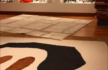 Tappeti di design, showroom gb-rugs Padova