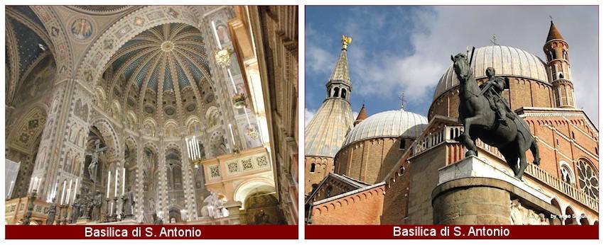Lage und route. Die Firma Bersanetti Tappeti  von Padua, in Italien