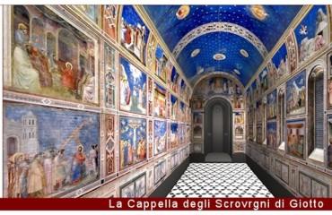L'Orologio e la Cappella degli Scrovegni a Padova-850x346