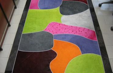 tappeto pelle tavolozza 450x600