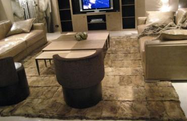 tappeto pelliccia rex beige 450x600