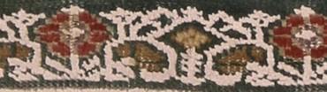 Panderma antico, particolare della cornicedel mihrab