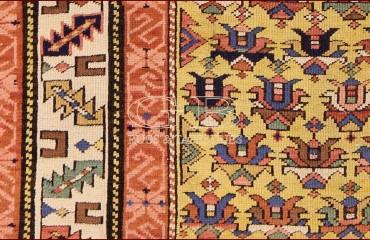 Shirvan antico Caucaso 155 x 100