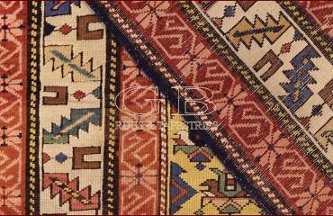 Tappeto shirvan antico, Caucaso - 155 x 100