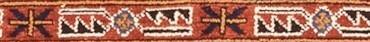 Tappeto shirvan antico, Caucaso 187 x 121 cm