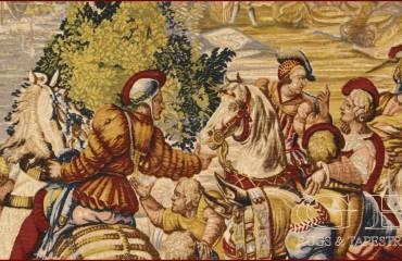 Arazzo De Rambouillet Chasse de Maximilien le baut l'eau