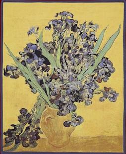 Arazzo - Van Gogh Iris tapestry