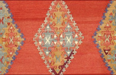 Karabag Kilim 230 X 158, 140000000193