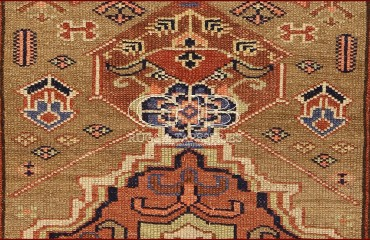 Tappeto Azerbaijan antico 377 X 102 140000000251 2