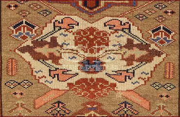 Tappeto Azerbaijan antico 377 X 102 140000000251 3
