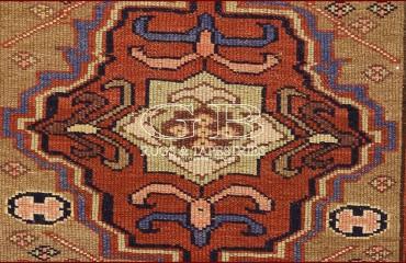Tappeto Azerbaijan antico 377 X 102 140000000251 6