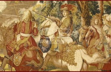 Arazzo Histoire du Roi, le canal de Bruges 141130155467 2