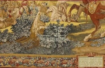 Arazzo Histoire du Roi, le canal de Bruges 141130155467