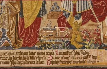 Arazzo Histoire fabuleuse des rois des Gaules 140917738495 1