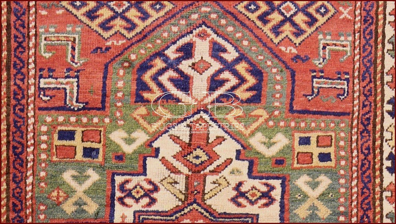 Tapis kazak ancien 235 x 95 141524765693 gb rugs - Tapis caucasiens prix ...