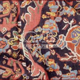 alfombra mahal antiguo
