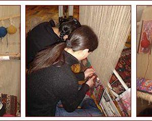 telaio tappeti persiani e caucasici